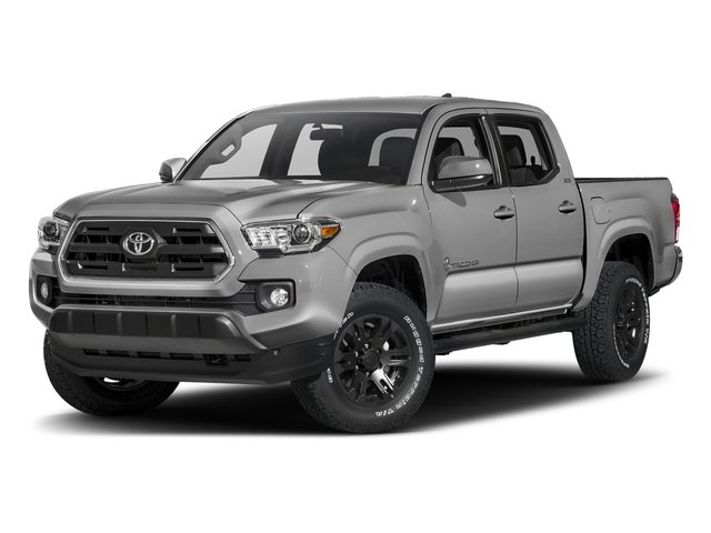 Silver Sky Metallic 2016 Toyota Tacoma Pictures Tacoma SR5 Crew Cab 4WD V6 photos front view