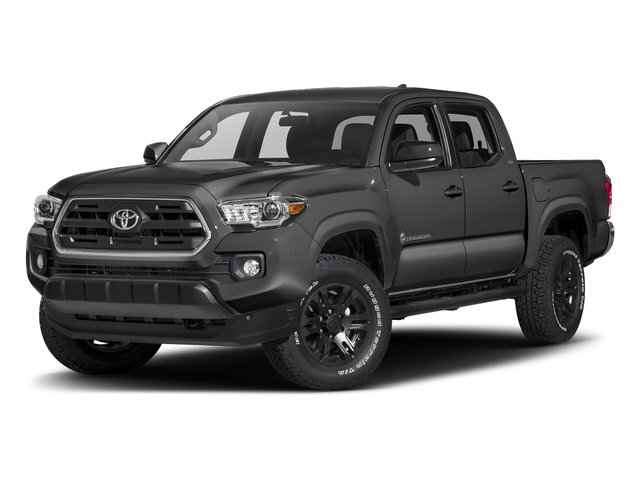 Magnetic Gray Metallic 2016 Toyota Tacoma Pictures Tacoma SR5 Crew Cab 4WD V6 photos front view