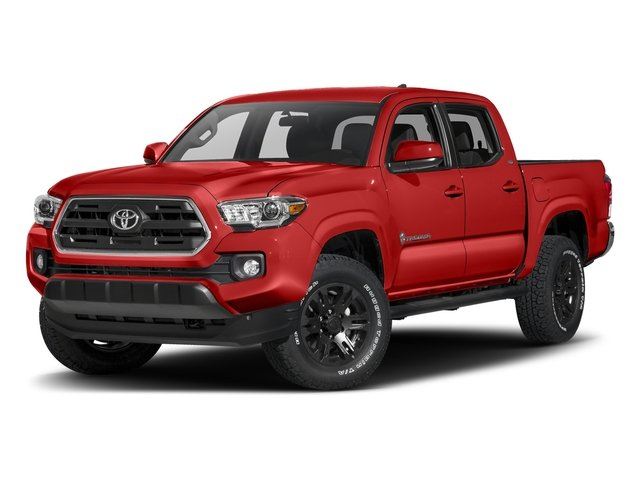 Inferno 2016 Toyota Tacoma Pictures Tacoma SR5 Crew Cab 4WD V6 photos front view