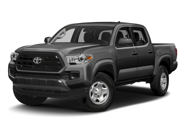 Magnetic Gray Metallic 2016 Toyota Tacoma Pictures Tacoma SR Crew Cab 4WD V6 photos front view