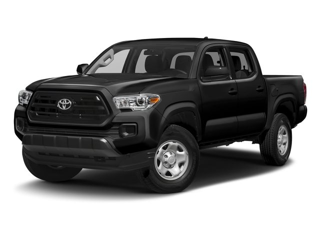 Black 2016 Toyota Tacoma Pictures Tacoma SR Crew Cab 4WD V6 photos front view