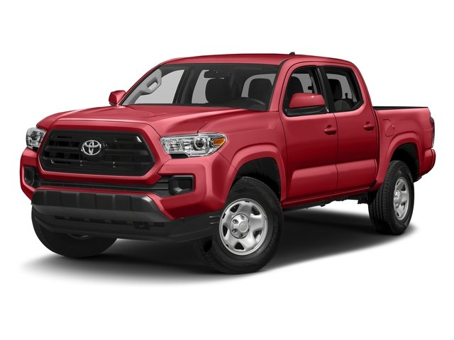 Barcelona Red Metallic 2016 Toyota Tacoma Pictures Tacoma SR Crew Cab 4WD V6 photos front view
