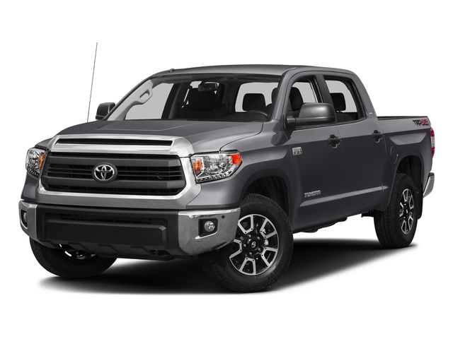 Magnetic Gray Metallic 2016 Toyota Tundra 2WD Truck Pictures Tundra 2WD Truck SR5 CrewMax 2WD photos front view