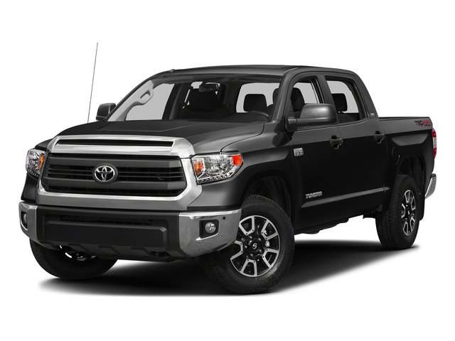 Black 2016 Toyota Tundra 2WD Truck Pictures Tundra 2WD Truck SR5 CrewMax 2WD photos front view