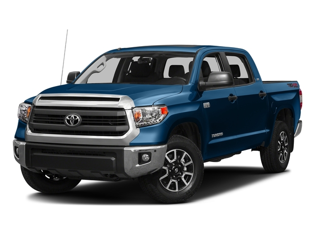 Blazing Blue Pearl 2016 Toyota Tundra 2WD Truck Pictures Tundra 2WD Truck SR5 CrewMax 2WD photos front view