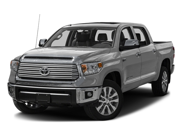 Silver Sky Metallic 2016 Toyota Tundra 2WD Truck Pictures Tundra 2WD Truck Limited CrewMax 2WD photos front view