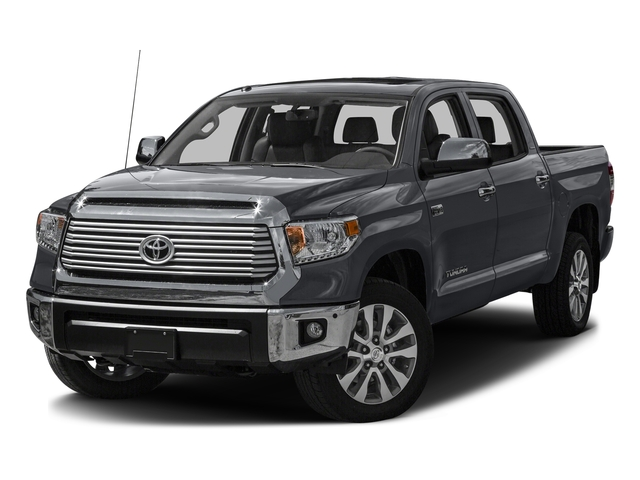 Magnetic Gray Metallic 2016 Toyota Tundra 2WD Truck Pictures Tundra 2WD Truck Limited CrewMax 2WD photos front view