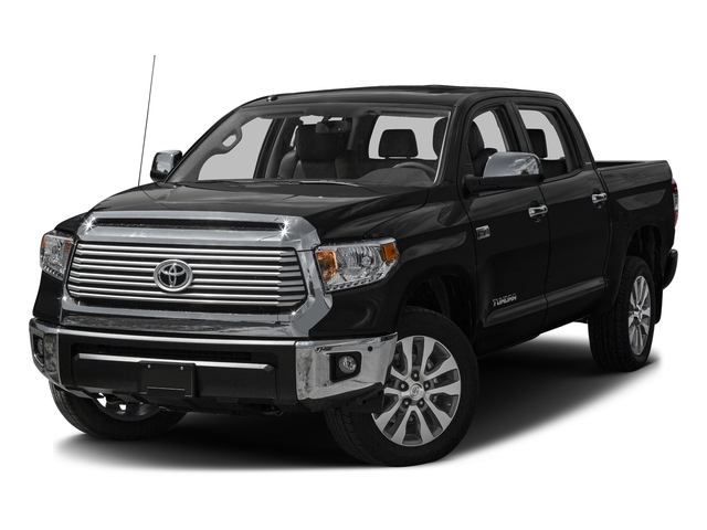 Midnight Black Metallic 2016 Toyota Tundra 2WD Truck Pictures Tundra 2WD Truck Limited CrewMax 2WD photos front view