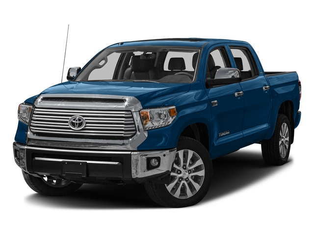 Blazing Blue Pearl 2016 Toyota Tundra 2WD Truck Pictures Tundra 2WD Truck Limited CrewMax 2WD photos front view