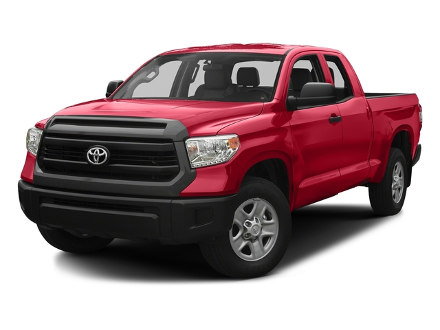 Radiant Red 2016 Toyota Tundra 2WD Truck Pictures Tundra 2WD Truck SR Double Cab 2WD photos front view