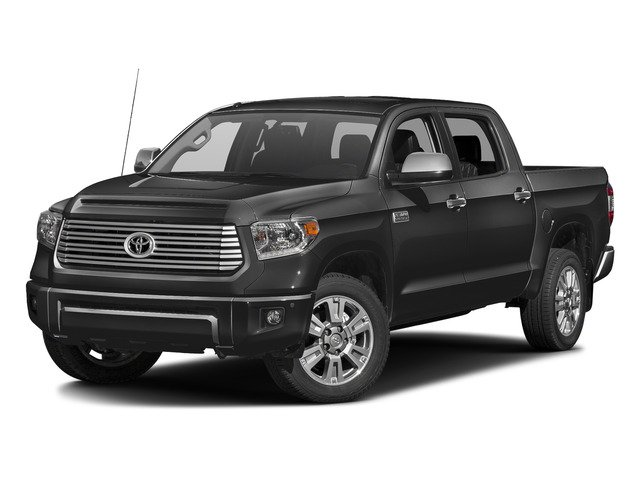 Magnetic Gray Metallic 2016 Toyota Tundra 2WD Truck Pictures Tundra 2WD Truck Platinum CrewMax 2WD photos front view