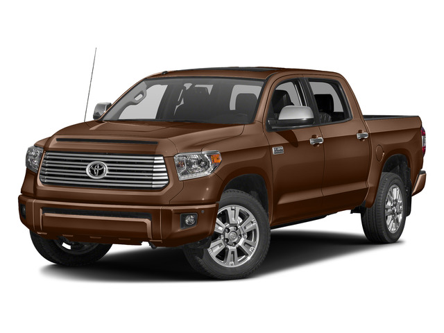 Sunset Bronze Mica 2016 Toyota Tundra 2WD Truck Pictures Tundra 2WD Truck Platinum CrewMax 2WD photos front view