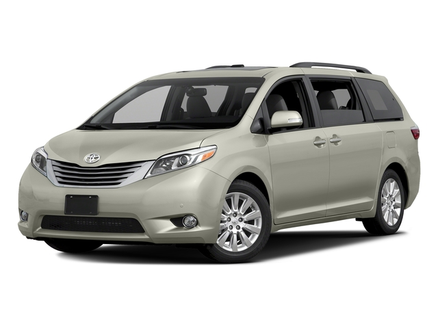 Blizzard Pearl 2016 Toyota Sienna Pictures Sienna Wagon 5D XLE AWD V6 photos front view