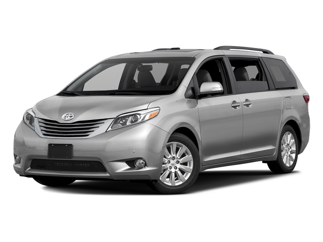 Silver Sky Metallic 2016 Toyota Sienna Pictures Sienna Wagon 5D XLE AWD V6 photos front view