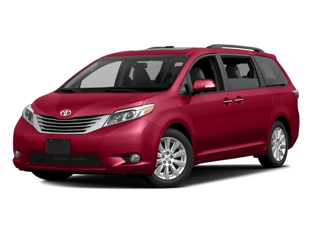 Salsa Red Pearl 2016 Toyota Sienna Pictures Sienna Wagon 5D XLE AWD V6 photos front view