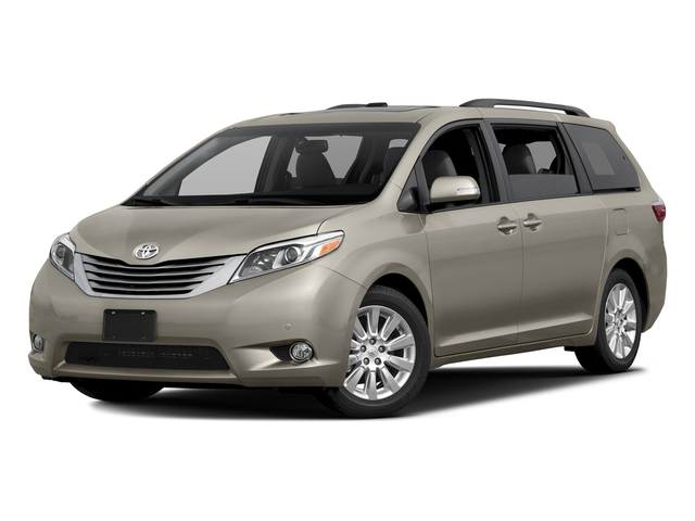 Creme Brulee Mica 2016 Toyota Sienna Pictures Sienna Wagon 5D XLE AWD V6 photos front view