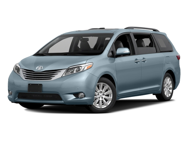 Sky Blue Pearl 2016 Toyota Sienna Pictures Sienna Wagon 5D XLE AWD V6 photos front view