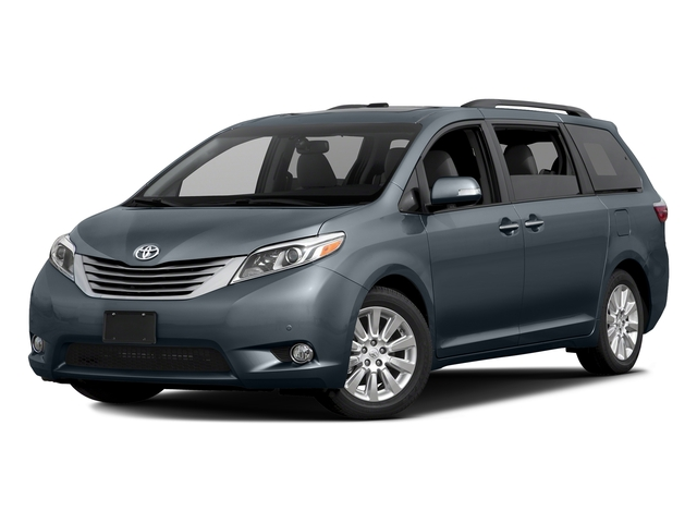 Shoreline Blue Pearl 2016 Toyota Sienna Pictures Sienna Wagon 5D XLE AWD V6 photos front view