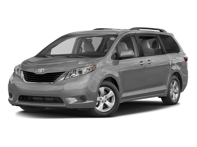 Silver Sky Metallic 2016 Toyota Sienna Pictures Sienna Wagon 5D LE AWD V6 photos front view