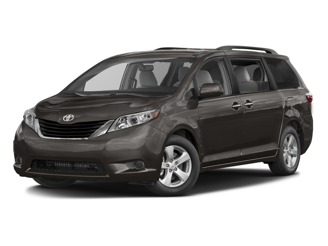 Predawn Gray Mica 2016 Toyota Sienna Pictures Sienna Wagon 5D LE AWD V6 photos front view