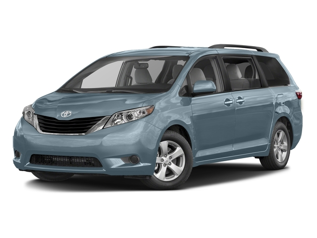 Sky Blue Pearl 2016 Toyota Sienna Pictures Sienna Wagon 5D LE AWD V6 photos front view