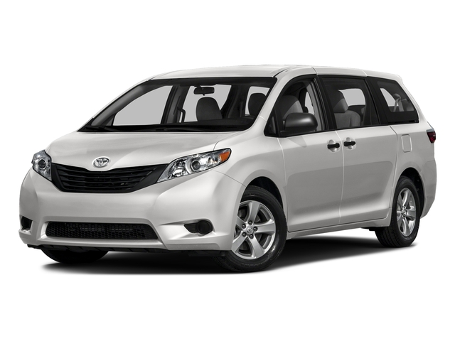 Super White 2016 Toyota Sienna Pictures Sienna Wagon 5D L V6 photos front view