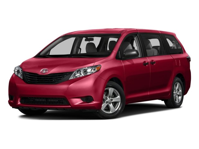 Salsa Red Pearl 2016 Toyota Sienna Pictures Sienna Wagon 5D L V6 photos front view