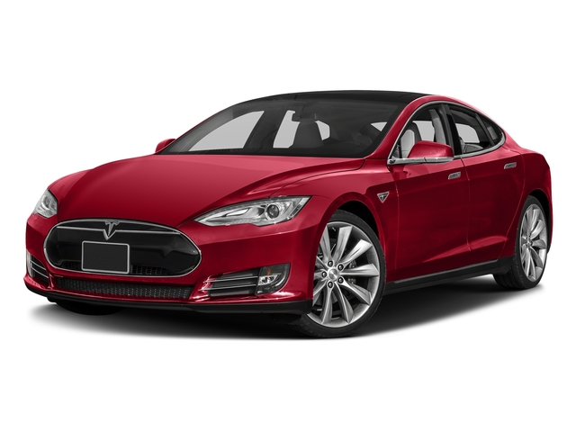Red Multi-Coat 2016 Tesla Motors Model S Pictures Model S Sed 4D D Performance 90 kWh AWD Elec photos front view