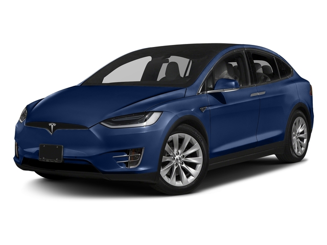 Deep Blue Metallic 2016 Tesla Motors Model X Pictures Model X Utility 4D Performance AWD photos front view