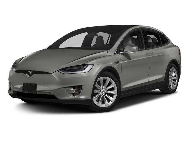 Silver Metallic 2016 Tesla Motors Model X Pictures Model X Utility 4D Performance AWD photos front view