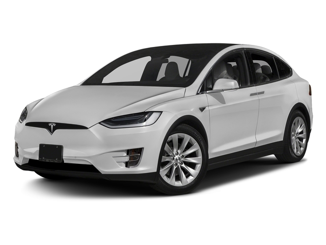 Solid White 2016 Tesla Motors Model X Pictures Model X Utility 4D Performance AWD photos front view