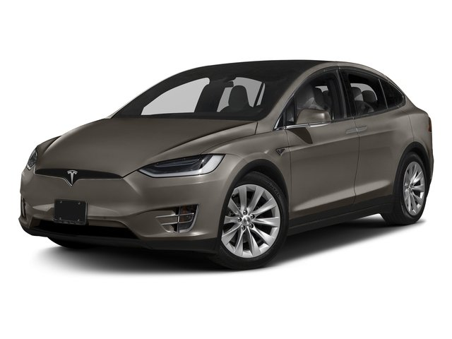 Titanium Metallic 2016 Tesla Motors Model X Pictures Model X Utility 4D Performance AWD photos front view