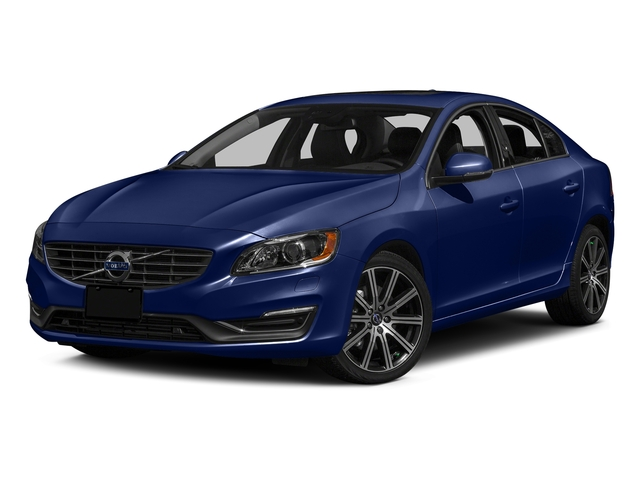 Magic Blue Metallic 2016 Volvo S60 Pictures S60 Sedan 4D T6 Platinum Drive-E Turbo photos front view