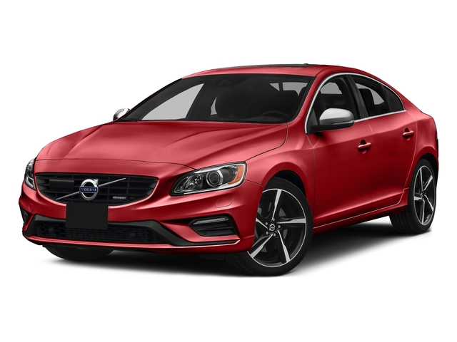 Passion Red 2016 Volvo S60 Pictures S60 Sedan 4D T6 R-Design AWD I6 Turbo photos front view