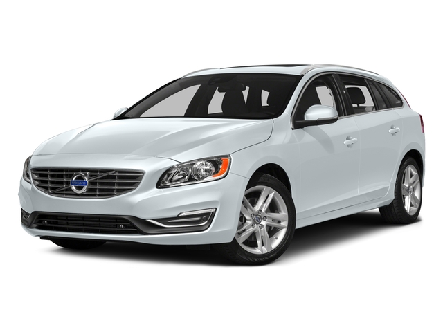 Ice White 2016 Volvo V60 Pictures V60 Wagon 4D T5 Premier AWD Turbo photos front view