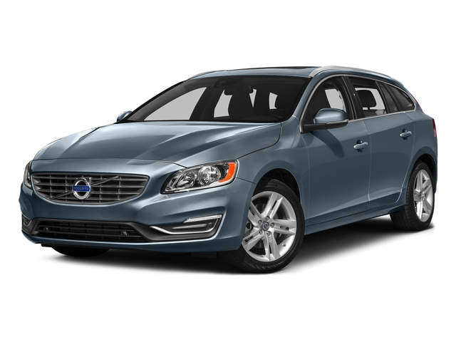 Osmium Grey Metallic 2016 Volvo V60 Pictures V60 Wagon 4D T5 Premier AWD Turbo photos front view