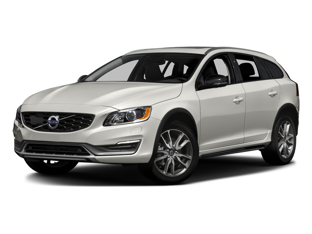 Crystal White Pearl 2016 Volvo V60 Cross Country Pictures V60 Cross Country Wagon 4D T5 AWD I5 Turbo photos front view