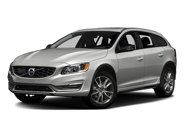 Bright Silver Metallic 2016 Volvo V60 Cross Country Pictures V60 Cross Country Wagon 4D T5 AWD I5 Turbo photos front view