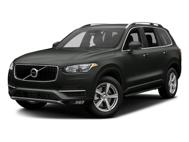 Ember Black Metallic 2016 Volvo XC90 Pictures XC90 Util 4D T5 Momentum AWD I4 Turbo photos front view