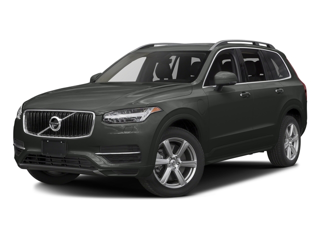Ember Black Metallic 2016 Volvo XC90 Hybrid Pictures XC90 Hybrid Utility 4D T8 Inscription AWD Hybrid photos front view
