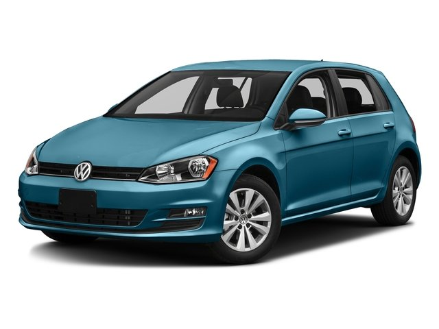 Silk Blue Metallic 2016 Volkswagen Golf Pictures Golf Hatchback 4D S I4 Turbo photos front view