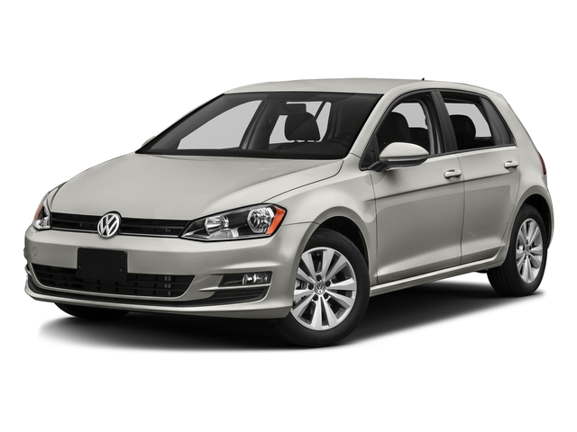 Tungsten Silver Metallic 2016 Volkswagen Golf Pictures Golf Hatchback 4D S I4 Turbo photos front view