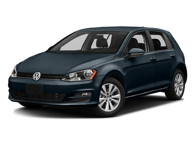 Night Blue Metallic 2016 Volkswagen Golf Pictures Golf Hatchback 4D S I4 Turbo photos front view