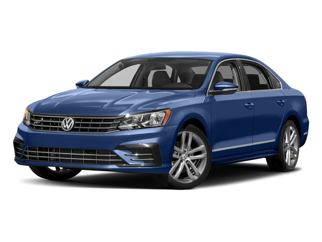 Reef Blue Metallic 2016 Volkswagen Passat Pictures Passat Sedan 4D R-Line I4 Turbo photos front view