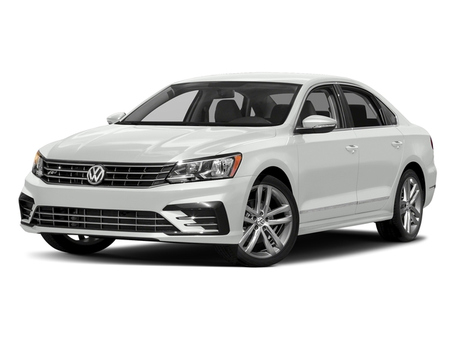 Pure White 2016 Volkswagen Passat Pictures Passat Sedan 4D R-Line I4 Turbo photos front view