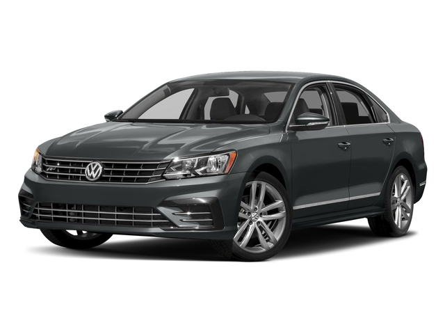 Urano Gray Metallic 2016 Volkswagen Passat Pictures Passat Sedan 4D R-Line I4 Turbo photos front view