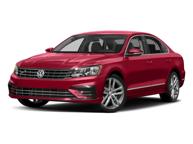 Fortana Red 2016 Volkswagen Passat Pictures Passat Sedan 4D R-Line I4 Turbo photos front view