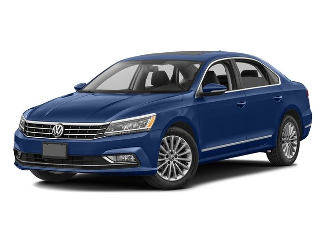 Reef Blue Metallic 2016 Volkswagen Passat Pictures Passat Sedan 4D SE Technology I4 Turbo photos front view