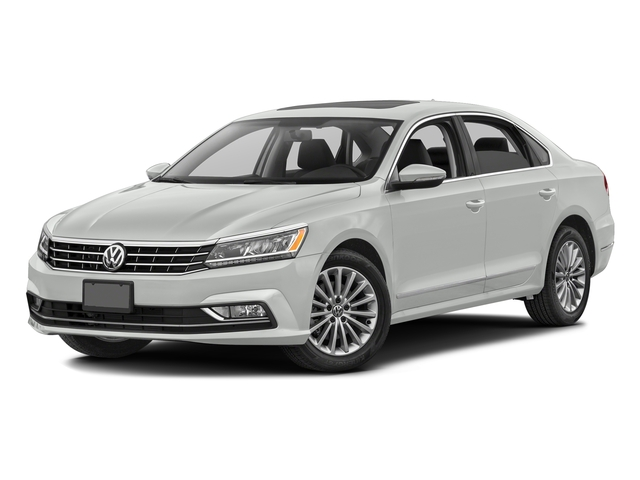 Pure White 2016 Volkswagen Passat Pictures Passat Sedan 4D SEL Premium I4 Turbo photos front view