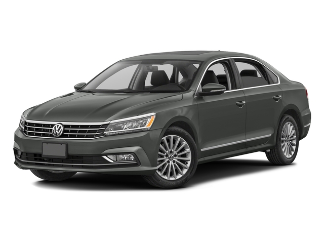 Platinum Gray Metallic 2016 Volkswagen Passat Pictures Passat Sedan 4D SEL Premium I4 Turbo photos front view